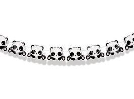 panda fofo faixa