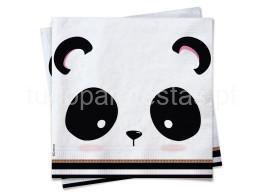 panda fofo guardanapo 13cm