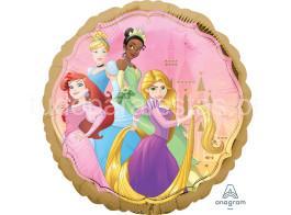 princesas balao 43cm verso