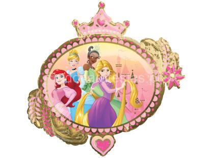 princesas balao 86x81cm verso