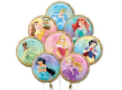 princesas baloes 8unid