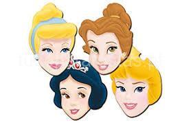 princesas mascaras