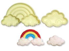 arco iris molde