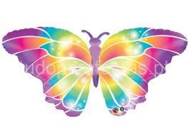 floral balao borboleta