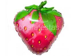 fruta balao morango