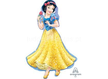 princesas balao branca neve