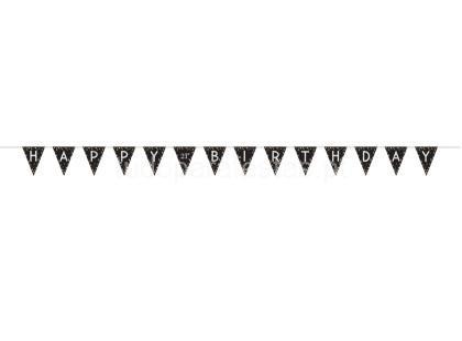 sparkling faixa happy birthday