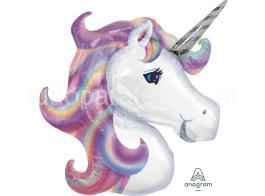 unicornio balao cabeça pastel