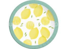 fruta limao pratos 23cm