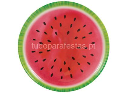 melancia prato melamina