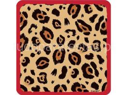 selva leopardo guardanapos