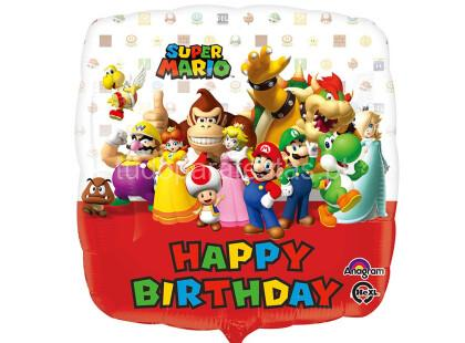 super mario balao happy birthday