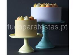 cake stand azul vintage2