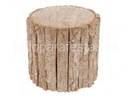 cake stand tronco madeira