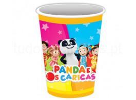 panda caricas copos