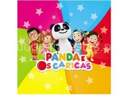 panda caricas guardanapos
