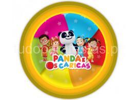 panda caricas pratos