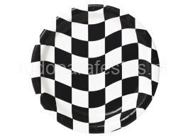 veiculos pratos xadrez 18cm