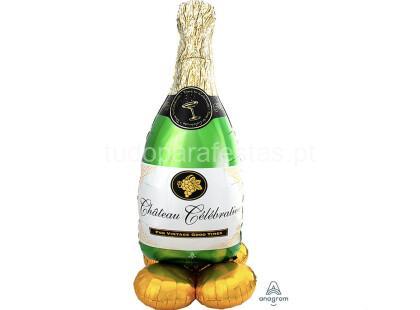 airloonz garrafa champanhe