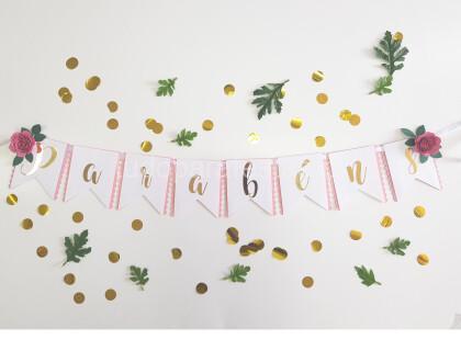 faixa parabens floral rosa2