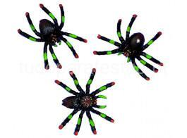 halloween aranhas 5cm
