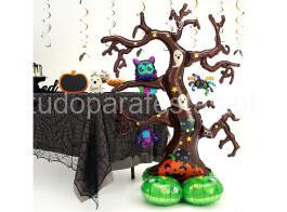 halloween balao arvore2