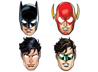 liga justiça mascaras