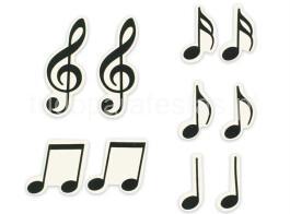 musica açucar notas musicais