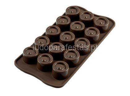 chocolate molde vertigo