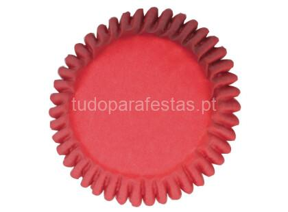 formas cupcakes red