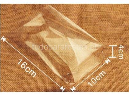 saco transparente com alça