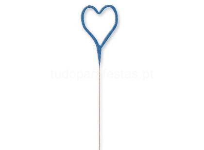 sparkle coracao azul