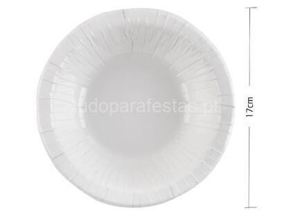 eco taça branco 17cm 12unid