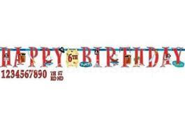 pirata faixa happy birthday