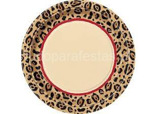 selva leopardo pratos 22cm
