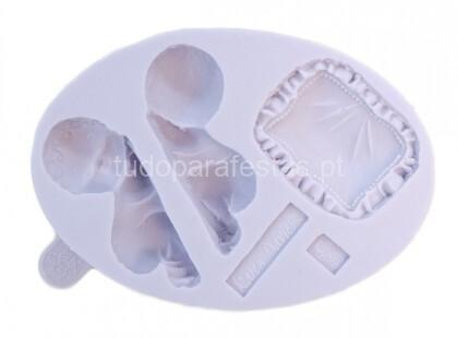 bebe molde silicone