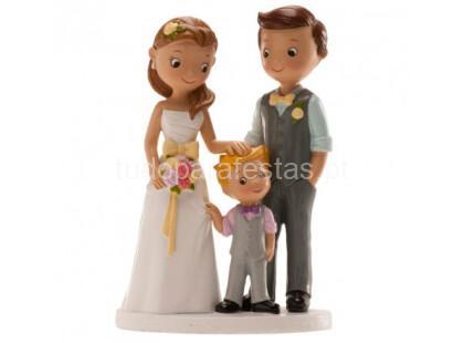 casamento noivos com menino