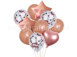 kit baloes rose gold