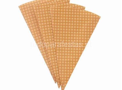 gelado carrinho cones