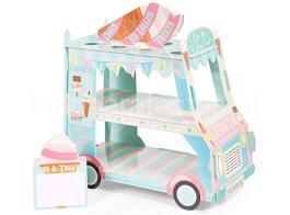 gelado carrinho stand