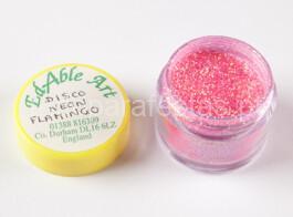 glitter Disco-Neon-Flamingo