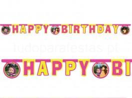 masha faixa happy birthday
